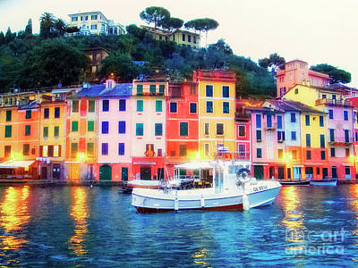 Photograph - Starry Portofino by Jack Torcello