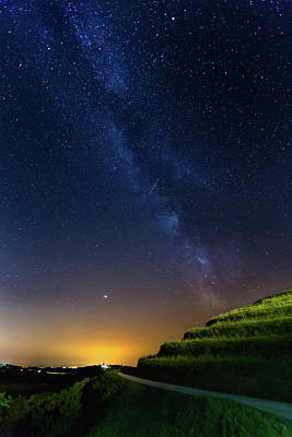 Photograph - Starry Sky Above Me by Davor Zerjav