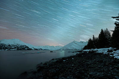 Photograph - Starry Starry Night by Ted Raynor