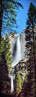Photograph - Starry Yosemite Falls by Connie Cooper-Edwards