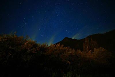 Deep Sky Photograph - Stars And Lights by Jeff Swan