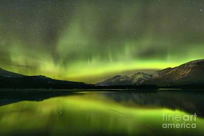 Photograph - Stars And Northern Lights by Adam Jewell