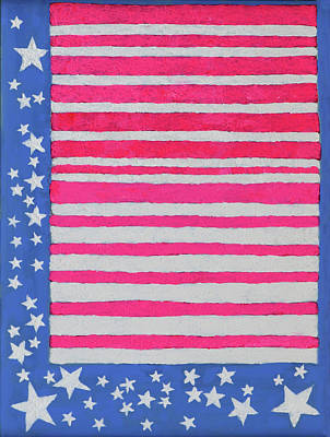 Painting - Stars And Stripes by Deborah Boyd