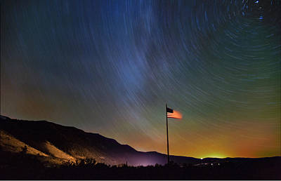 Photograph - Stars And Stripes II by Cat Connor