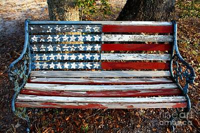 American Pride Photograph - Stars And Stripes by Southern Photo