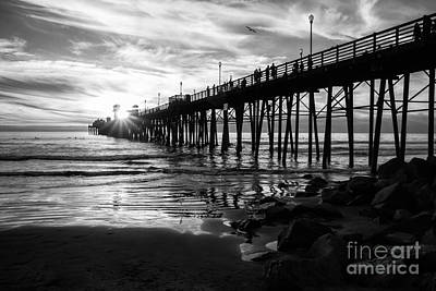 Stars And Swirls In Oceanside Art Print by Ana V Ramirez