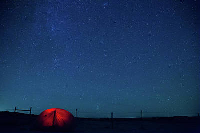 Photograph - Stars At Bisti by Kunal Mehra