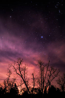 Van Goh Photograph - Stars At Sunset by Shelby  Young