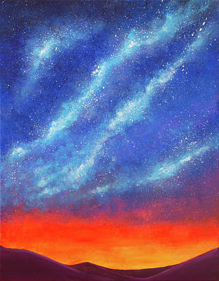 Painting - Stars Belong To Everyone by Iryna Goodall