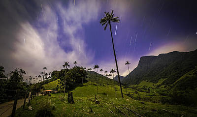 Photograph - Stars In The Valley by Francisco Gomez