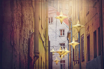 Photograph - Stars Of Riga Old Town  by Carol Japp