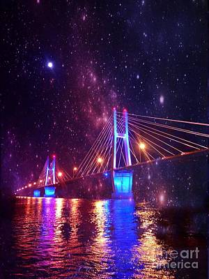 Photograph - Stars On The Waters by Justin Moore