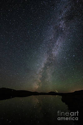 Photograph - Stars Over Independence Pass Colorado by Tibor Vari