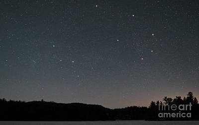 Photograph - Stars And Constellations Over Killarney Provincial Park Ontario Canada by Charline Xia