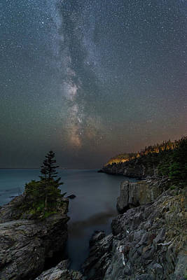 Photograph - Stars Over Quoddy Channel by Michael Blanchette