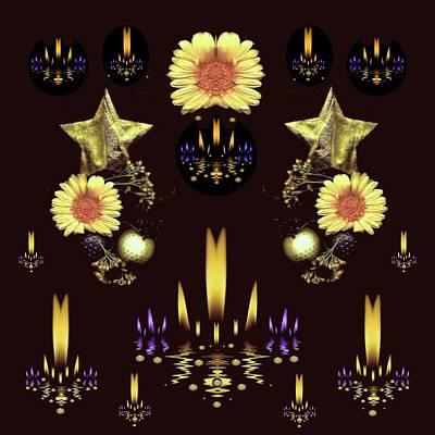 Stars Over The Sacred Sea Of Candles Art Print
