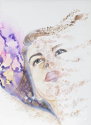 Disintegrate Painting - Stars We See,stars We Are by Elisabeth Landgraf