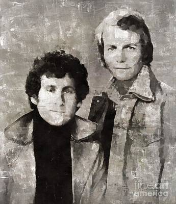 Elvis Presley Painting - Starsky And Hutch by Mary Bassett