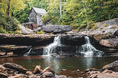 Photograph - Start Of Autumn At Glade Creek Mill - West Virginia by Gregory Ballos