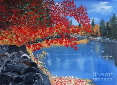 Start Of Fall Art Print by Rod Jellison