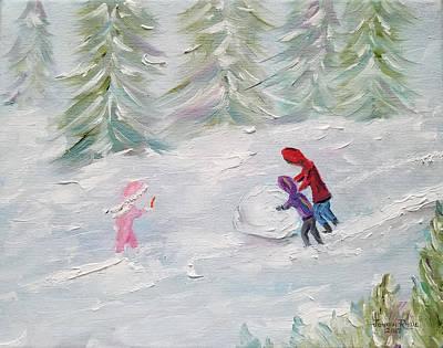 Painting - Start Of Something Big by Judith Rhue