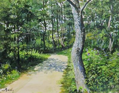 Painting - Start Of The Trail by William Brody
