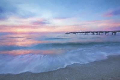 Pier Digital Art - Start The Day II by Jon Glaser