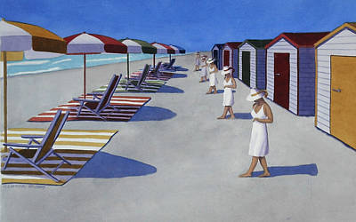 Painting - Starting A Day At The Beach by Cory Clifford