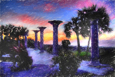 Georgetown Digital Art - Starting The Day by Barry Monaco