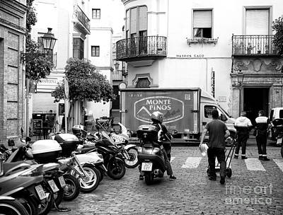 Photograph - Starting The Day On Calle Mateos Gago by John Rizzuto