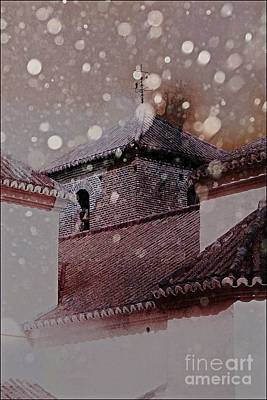 Spanish Photograph - Starting To Snow by Clare Bevan