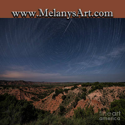 Photograph - Startrail Bag by Melany Sarafis