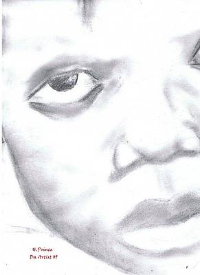 Haitian Drawing - Starvation by HPrince De Artist