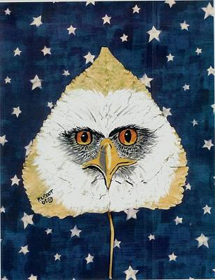 Painting - Stary Eagle by Ralph Root