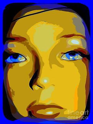 Digital Art - Stasia's Stare by Ed Weidman