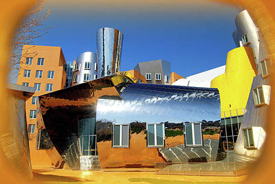 Photograph - Stata At Mit by Caroline Stella