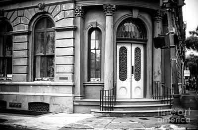 Photograph - State Bank Of South Carolina Building Charleston by John Rizzuto