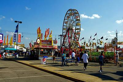 Photograph - South Carolina Statecfair 4 by Joseph C Hinson Photography