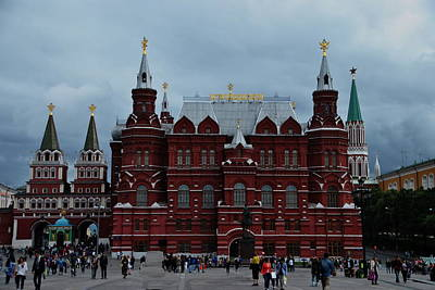 Photograph - State Historical Museum - Red Square by Jacqueline M Lewis