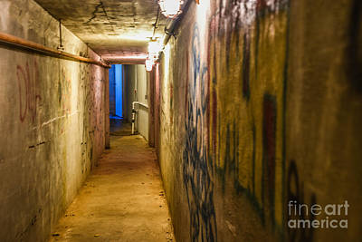 Photograph - State Hospital Tunnels by Grace Grogan