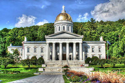 Photograph - State House by LaRoque Photography