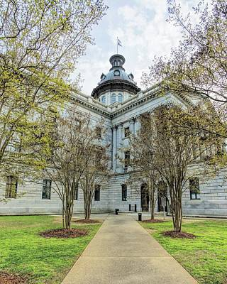 Photograph - State House On A Spring Day by Jenny Hudson