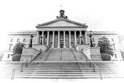 Photograph - State House - Vintage Style by Jenny Hudson