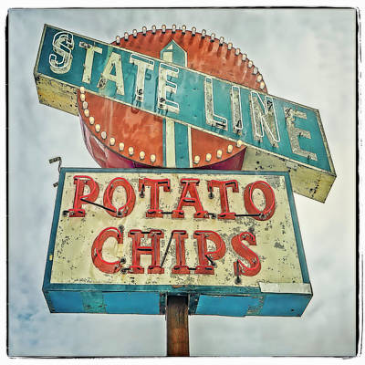 Photograph - State Line #1 by Jerry Golab
