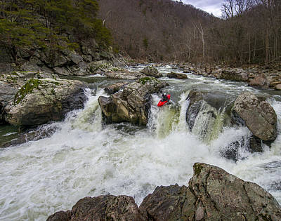 Photograph - State Line Falls 5 by Shannon Millsaps