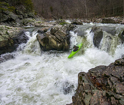 Photograph - State Line Falls 9 by Shannon Millsaps