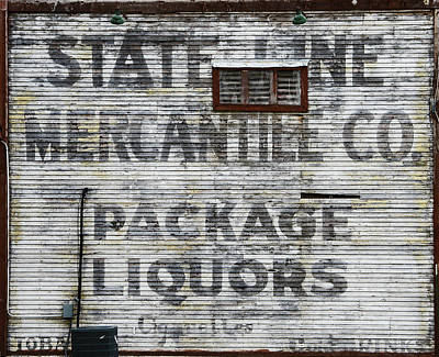 Photograph - State Line Mercantile Co. by Susan McMenamin