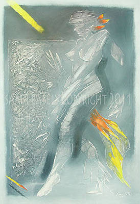 Painting - State Of A Woman V by Saadi Babely