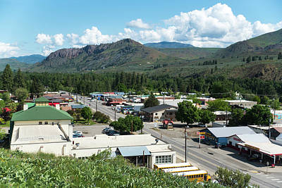 Photograph - State Route 20 In Twisp by Tom Cochran