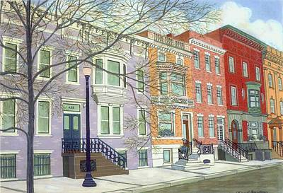 State Street Art Print by David Hinchen